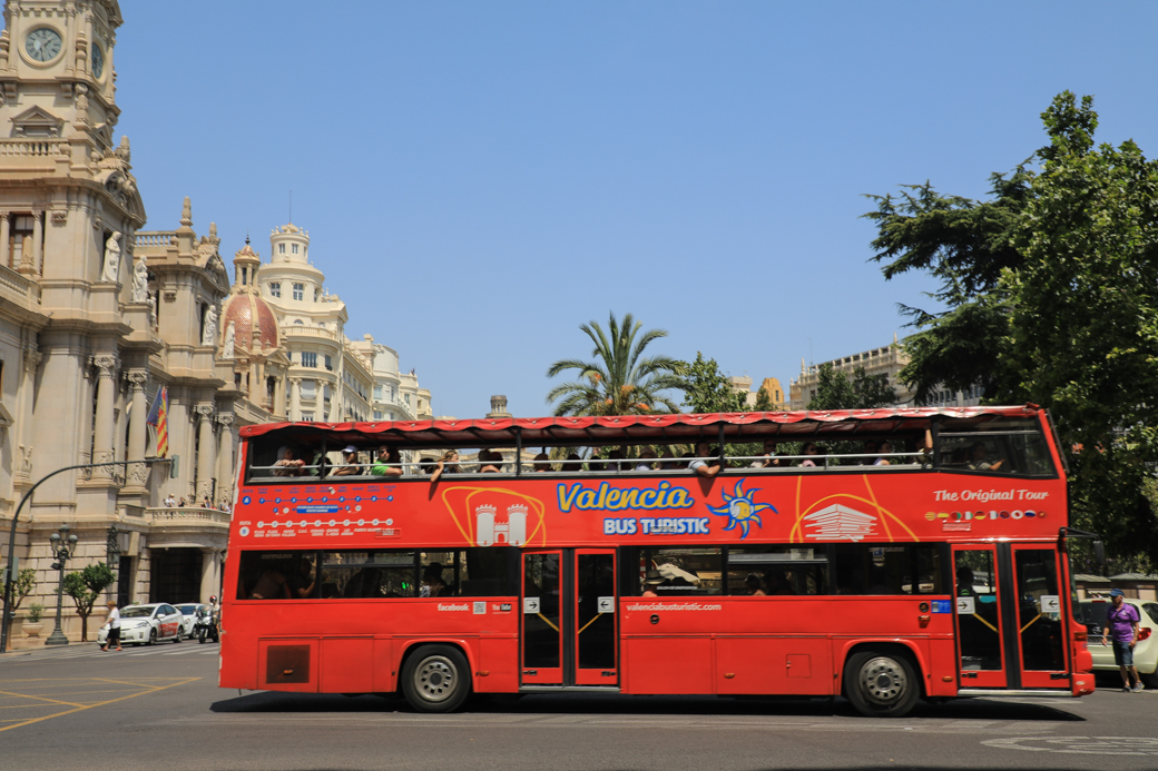 hop-on-hop-off Valencia